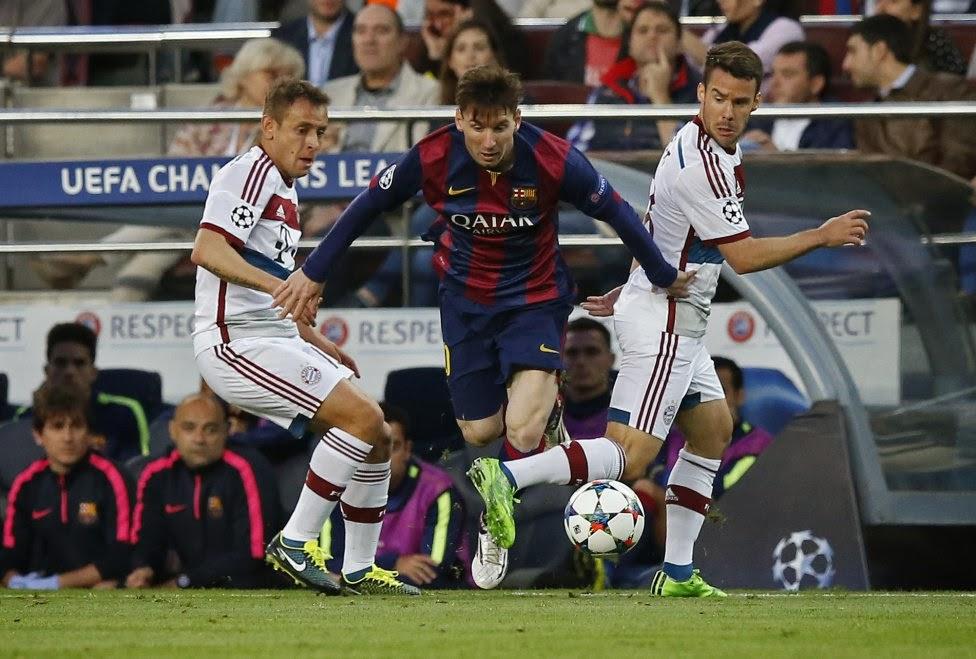 FC Barcelona - Bayern Munich Champions League 2015