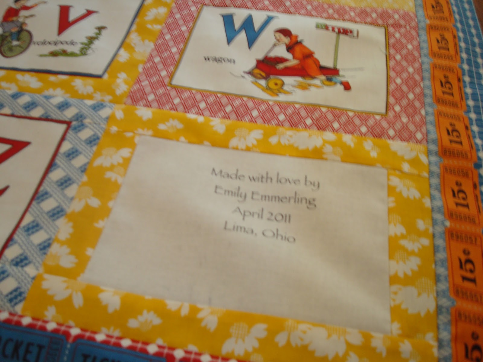 the american jane quilt top is