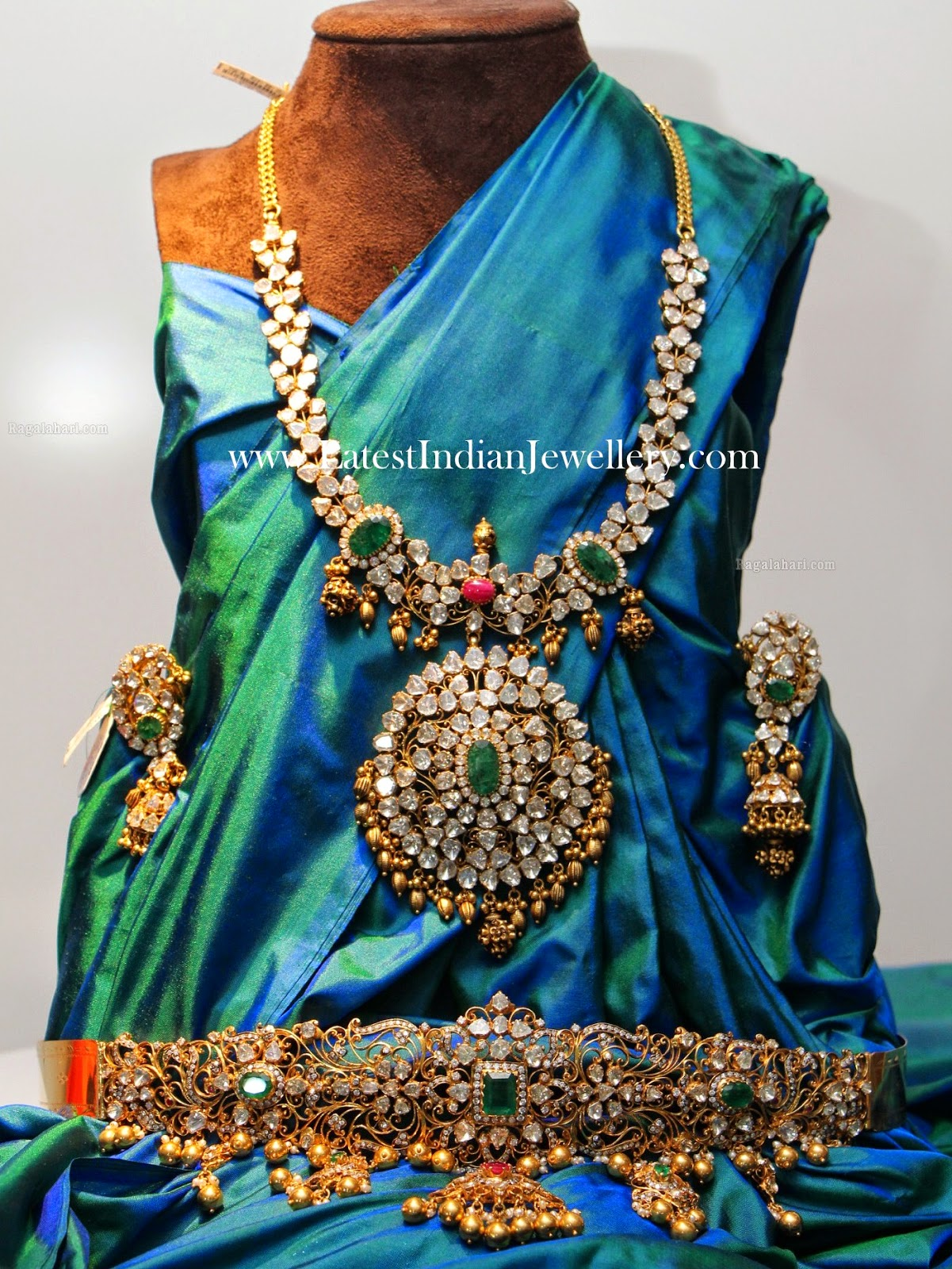 Pachi Work Complete Wedding Jewellery Set