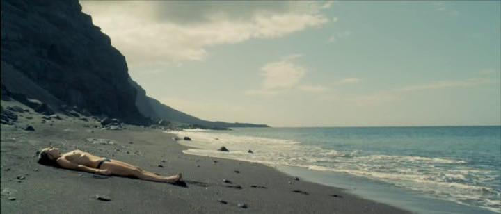 hierro 2009 film elena anaya gabe ibanez nude beach ocean