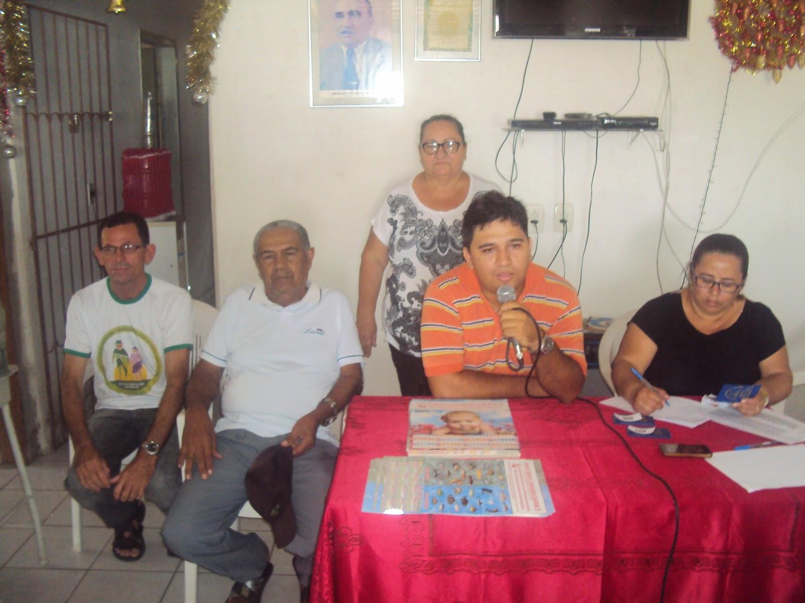 Sindicato dos Trabalhadores e Trabalhadoras Rurais de Caldas Brandão. Presidente Marcelo Aguiar