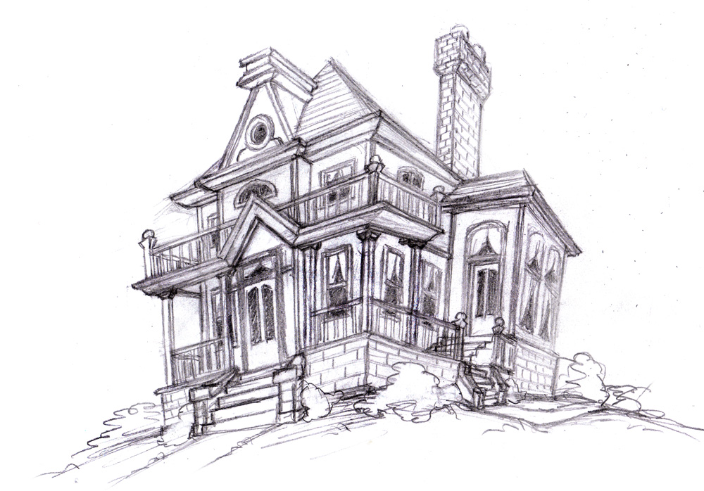 Magellin blog an old house sketch