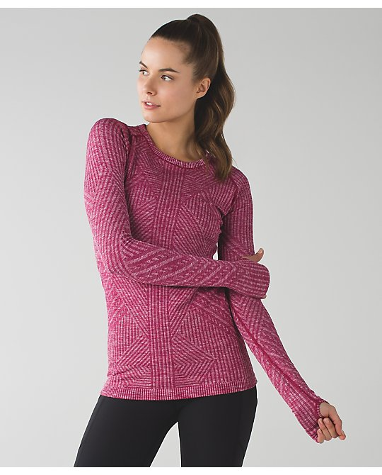 lululemon berry-rumble-rest-less-pullover