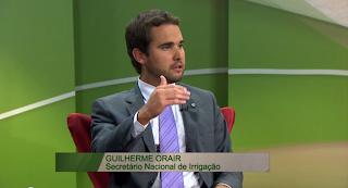 Reportagem TVNBR: Nova política de irrigação estimula produção agrícola brasileira.15/02/2013