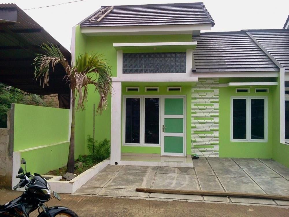 paduan cat warna hijau