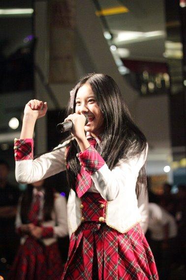 Cleo JKT48 at Launching MV heavy rotation