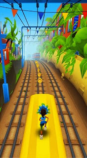 Screenshots of the Subway surfers: World tour Rio for Android tablet, phone.