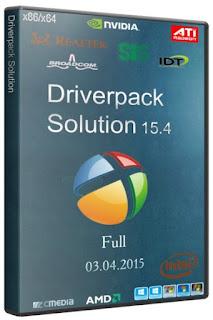تحميل إسطوانة التعريفات الشاملة بأحدث إصداراتها DriverPack Solution 15.6 2015