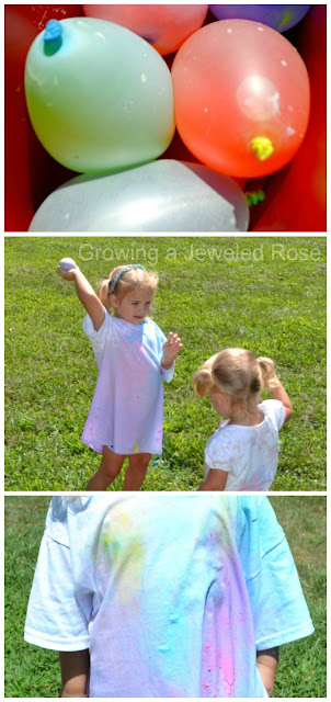 Water Balloon Paint War- SUPER Summer Fun