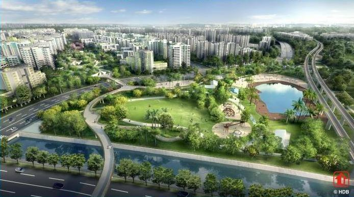 Tampines North: Leaf concept