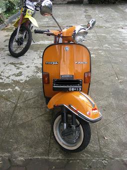 vespa 200cc 1988  - sold -
