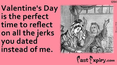 Cartoon about Ecard, women, Valentines, relationships, 