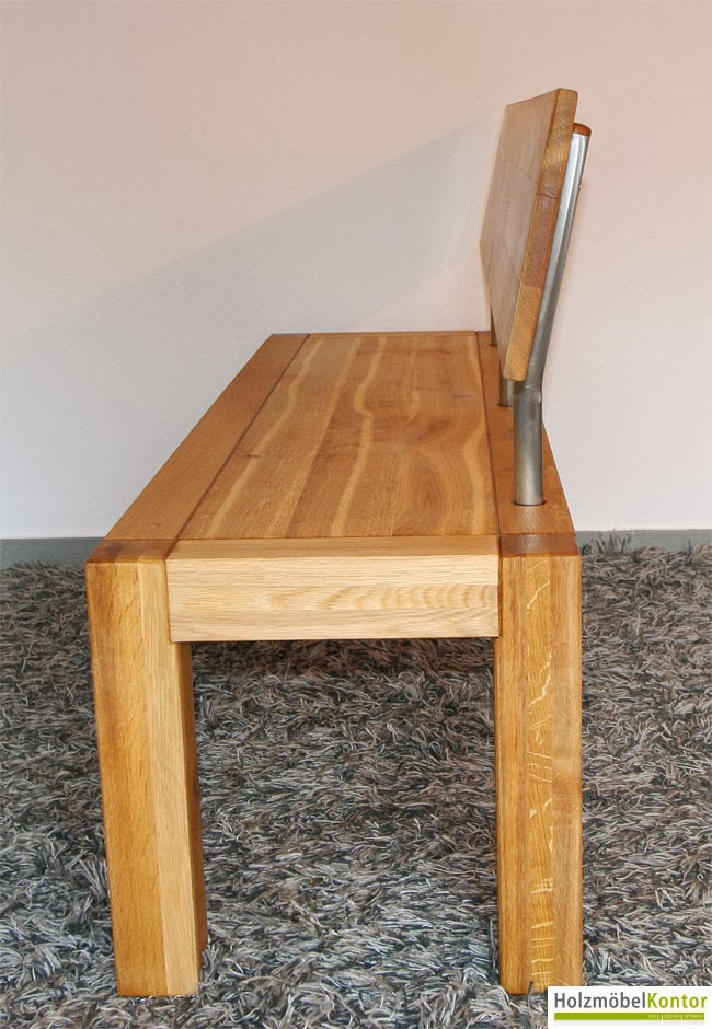 wohnkantine wohnideen vom holzm belkontor tisch und bank. Black Bedroom Furniture Sets. Home Design Ideas