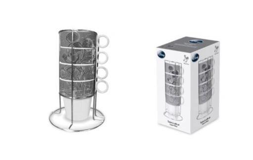 Utensilios de cocina pack 4 tazas mickey mouse for Soporte utensilios cocina