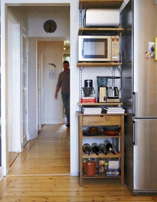 7 MODI PER FARE SEMBRARE UNA CUCINA PICCOLA PIU GRANDE ~ Home Staging It...