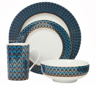 Sale item of the week: Peacock dinnerware