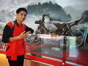Motor Saksi bisu Keganasan Gunung Merapi