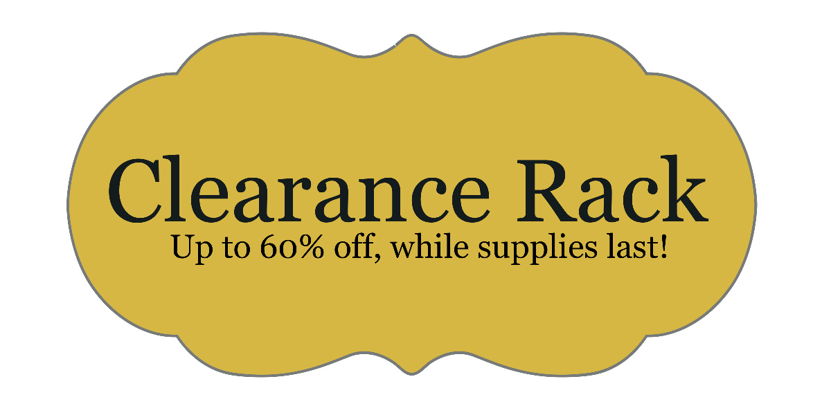 Clearance Specials: