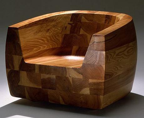Innovadora silla de madera de dise o japones sillas y for Diseno de sillas modernas de madera