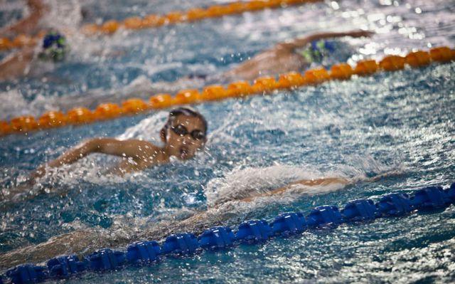 الصين وكيفية صناعة الأبطال الألومبيين China-gymnasium-Olympic-children-4