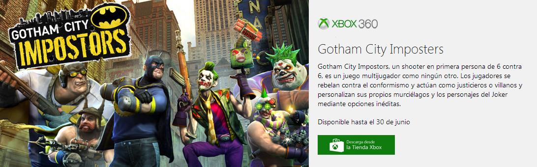Ya tenemos un nuevo juego gratis gracias al Games with Gold.