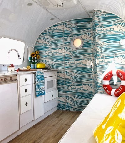 airstream decorating