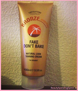 fake dont bake tan review