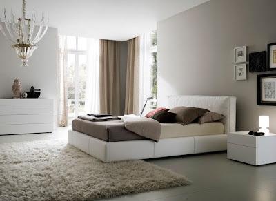 desain kamar tidur kontemporer cantik