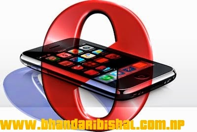 how to use opera mini for free internet for mobile