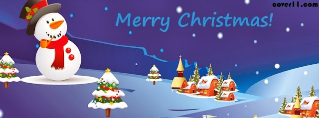 Merry Christmas Facebook Cover Photos