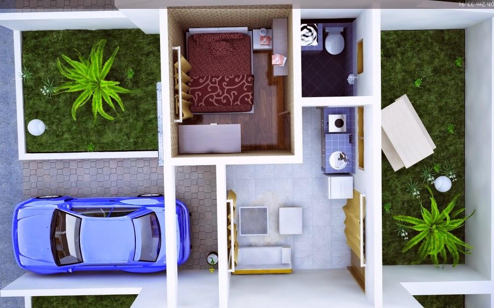 Desain ruangan minimalis 1