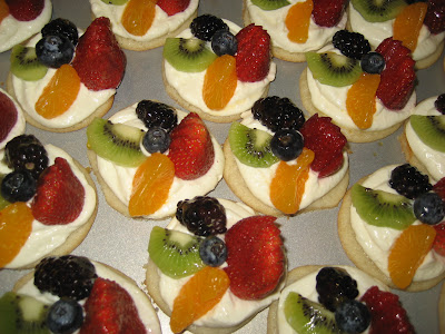 HECK FRIDAYS: Sugar Cookie Fruit Tarts