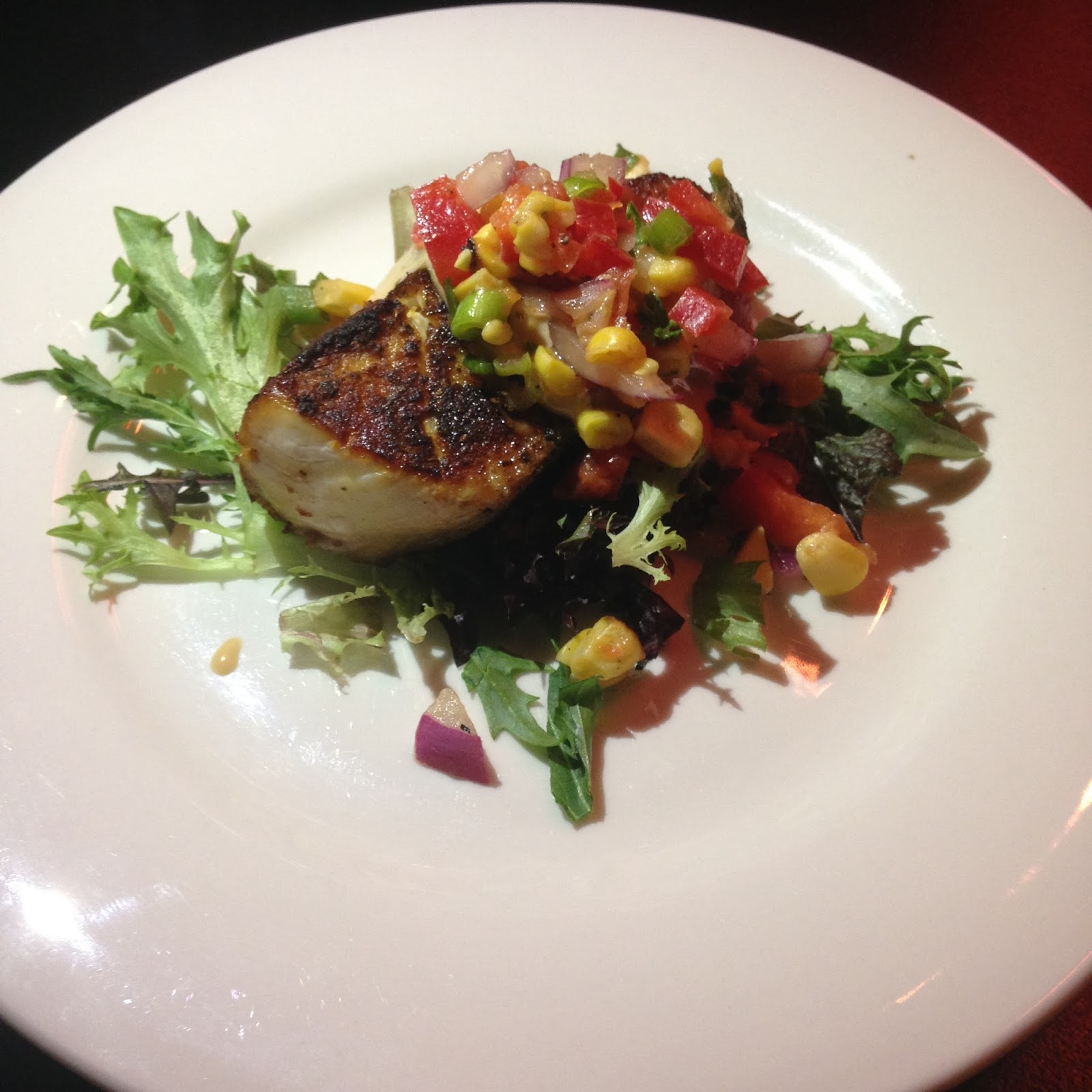 curious squire, adelaide, food, north adelaide, kingfish, salsa, dinner, lunch