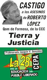 JUSTICIA PARA LOS QOMS