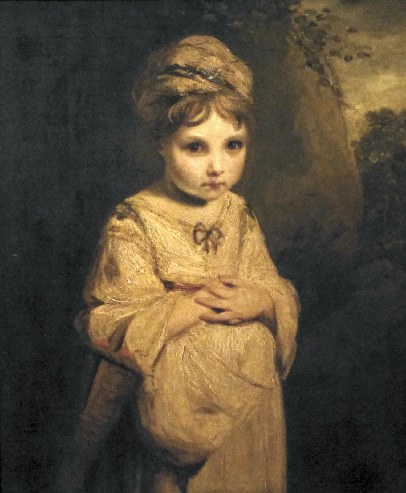 The Strawberry Girl by Sir Joshua Reynolds (1772-3)  © The Wallace Collection; Photo © Andrew Knowles