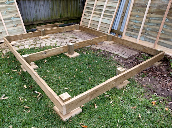 marxy's musing on technology: Ham shed build