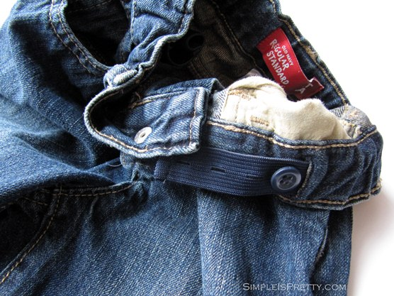 simpleispretty.com - Old Navy Adjustable Waist Kid's Jeans