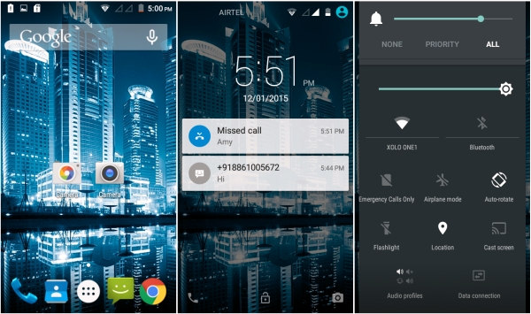 XOLO One Android Lollipop