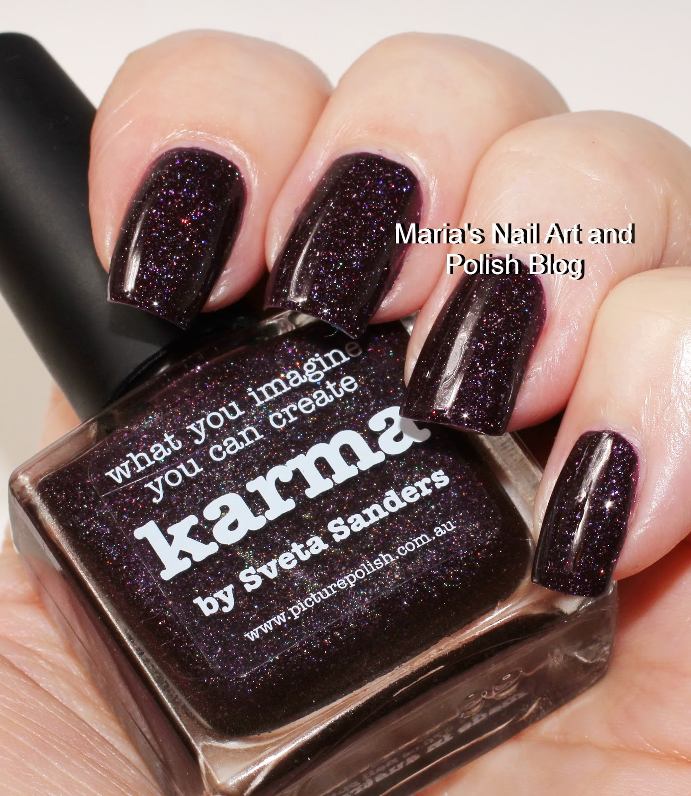 Marias Nail Art and Polish Blog: Picture Polish Karma swatches