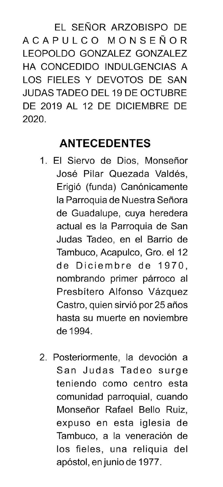 AÑO JUBILAR DE ORO