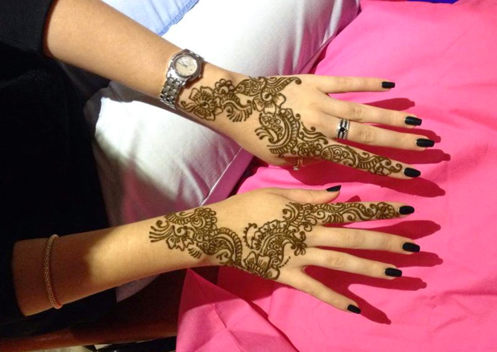 Quick Mehndi Patterns : Awesome quick arabic mehndi designs domseksa