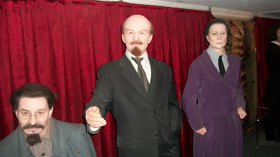 Vladimir Lenin, recreated in wax.