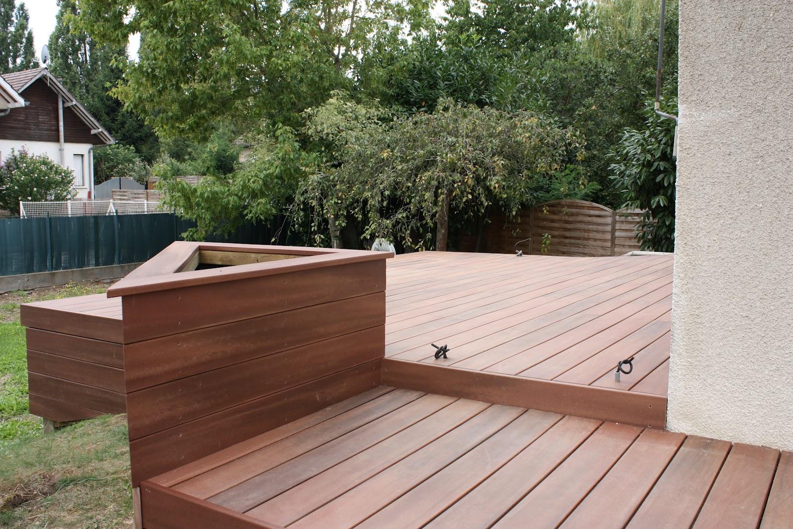 terrasse en composite clipsé gris piveteau bois terrasse en composite