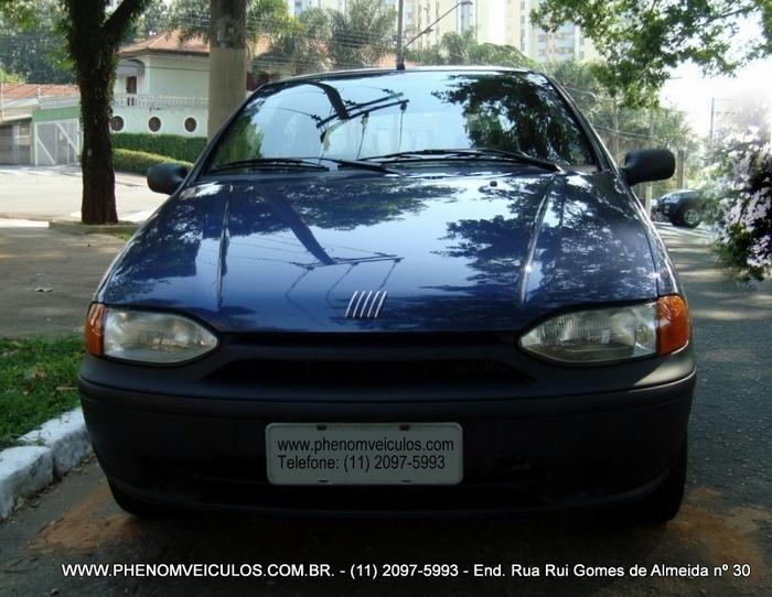 Fiat Palio 1.0 MPI EX 2 Portas 1999 - frente
