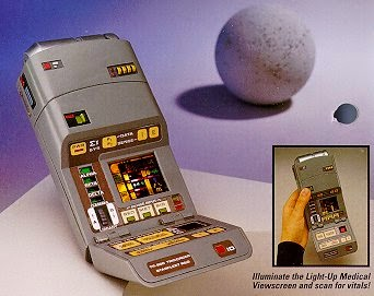 Star Trek Playmates Prototype Medical Tricorder