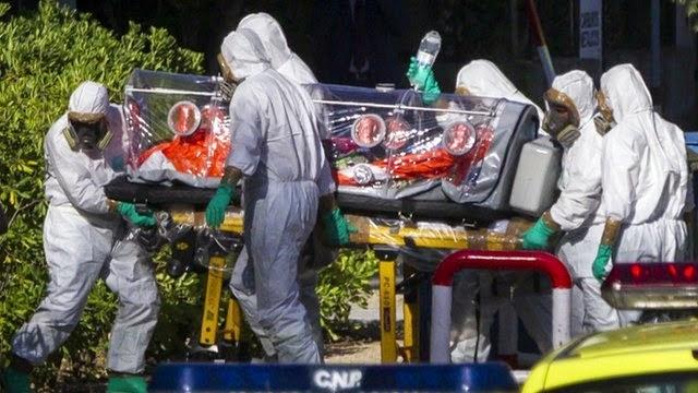 Ebola reaches Europe