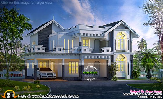 Awesome western model house plan