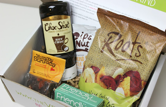 A picture of June 2015 TheVeganKind Box