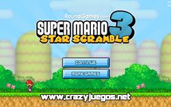 Jugar Super Mario Star Scramble