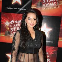 beloved Sonakshi sinha cute in black lehanga
